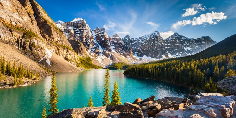 The Color Of Moraine Lake