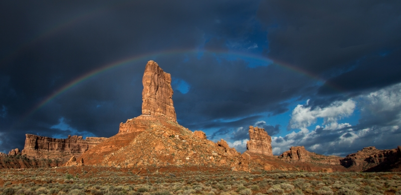 Double Rainbow Butte