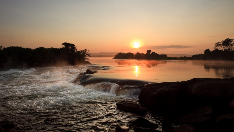 Victoria Nile Sunrise