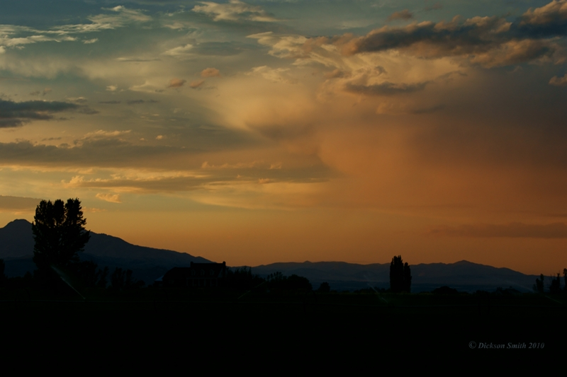 Cache Valley Sunset
