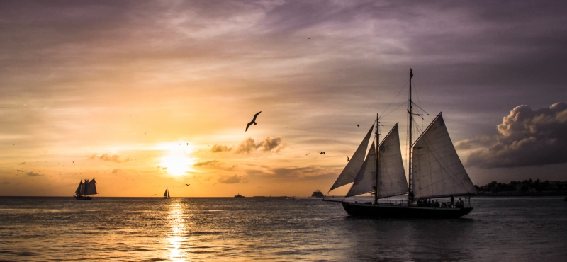 Day's End At Key West