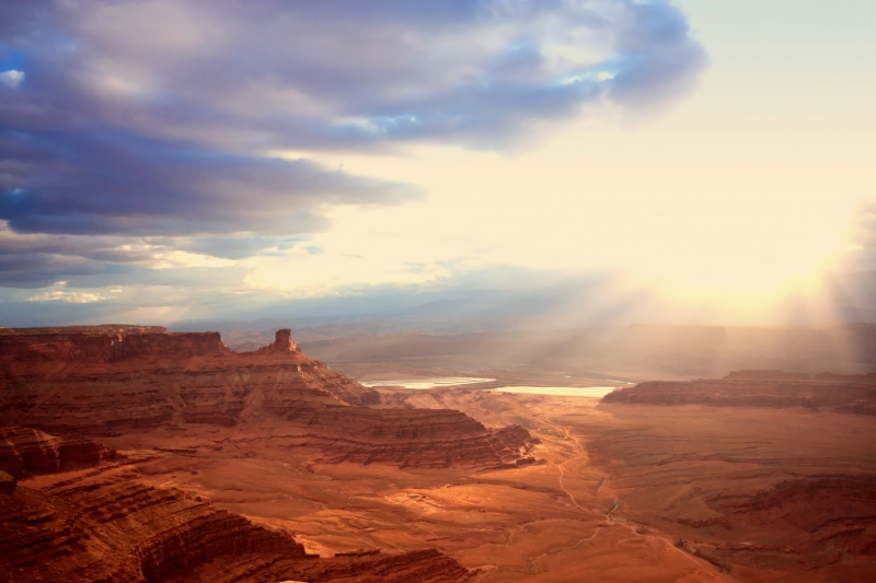 Sunrise At Deadhorse Point