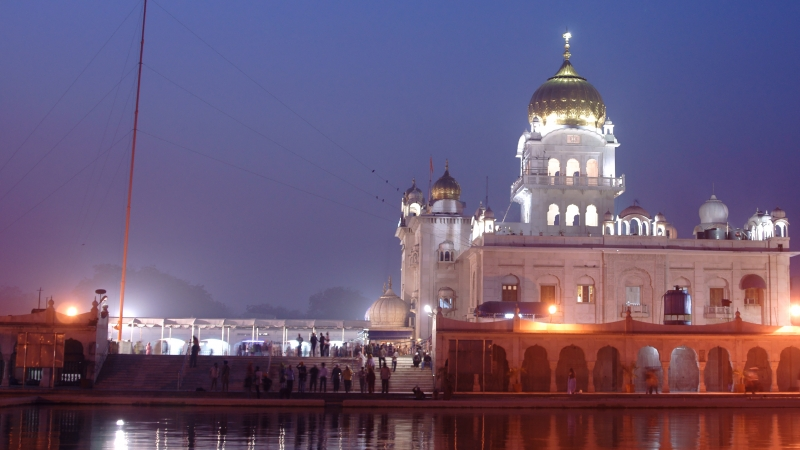 Gurudwara Bangla Sahib Temple New Delhi