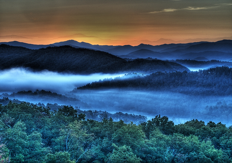 Smokie Mountain Sunrise