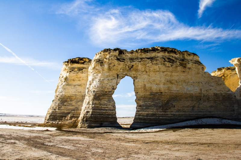 Monument Rocks Of Kansas