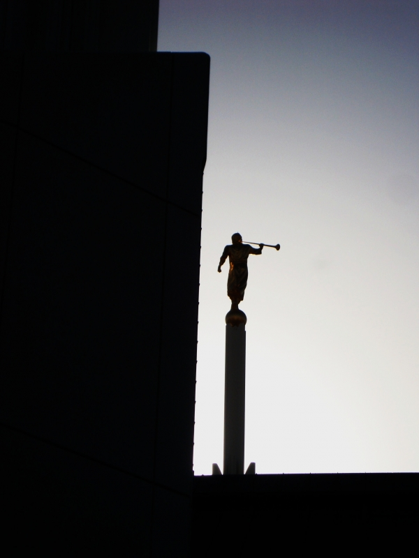 Angel Moroni And The Rising Sun