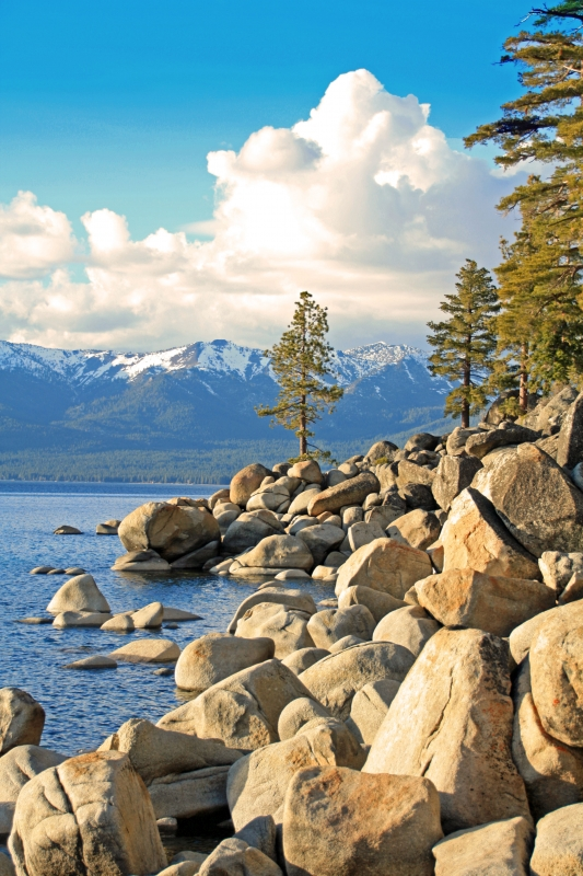 Beauty Of Lake Tahoe
