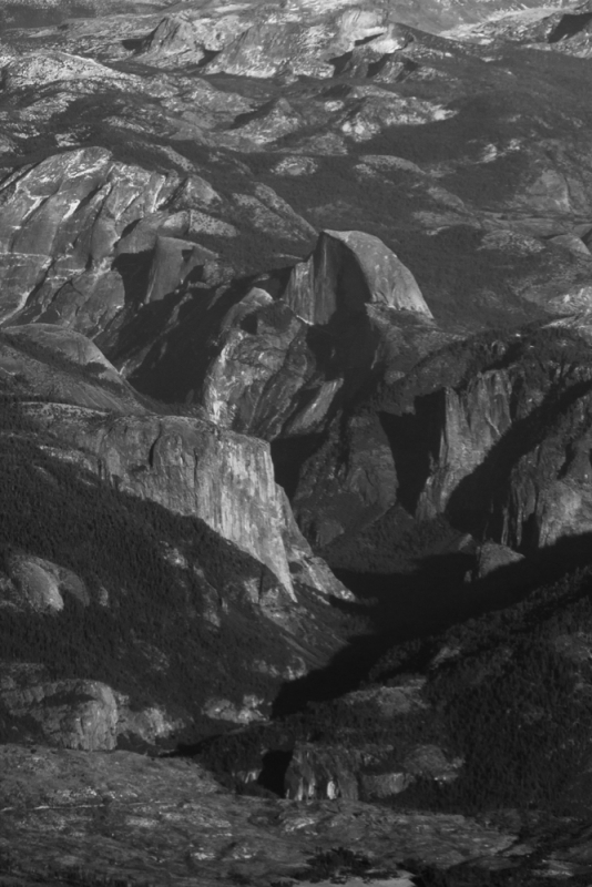 Yosemite From The Air