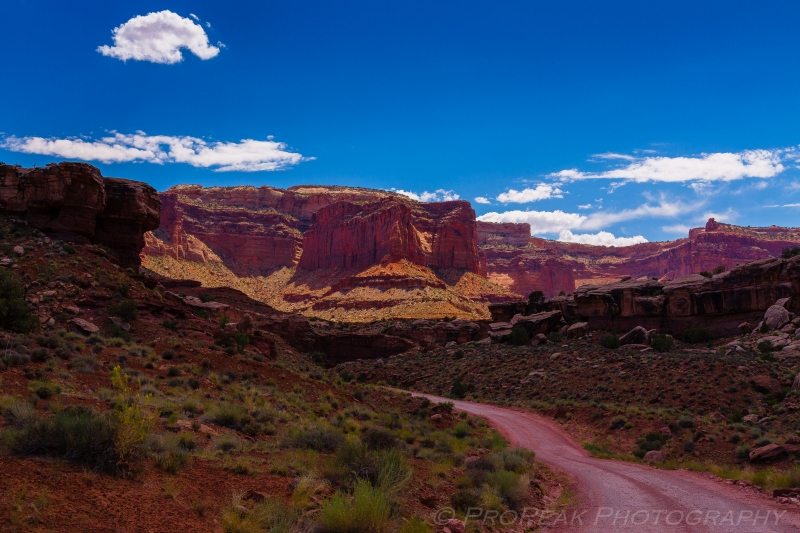 Mid-Day In The Canyonlands