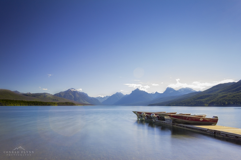 A Windy Morning On Lake Mcdonald
