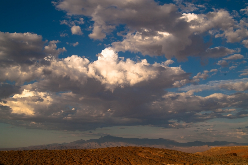 Clearing Storm Clouds, Valley Of Fire