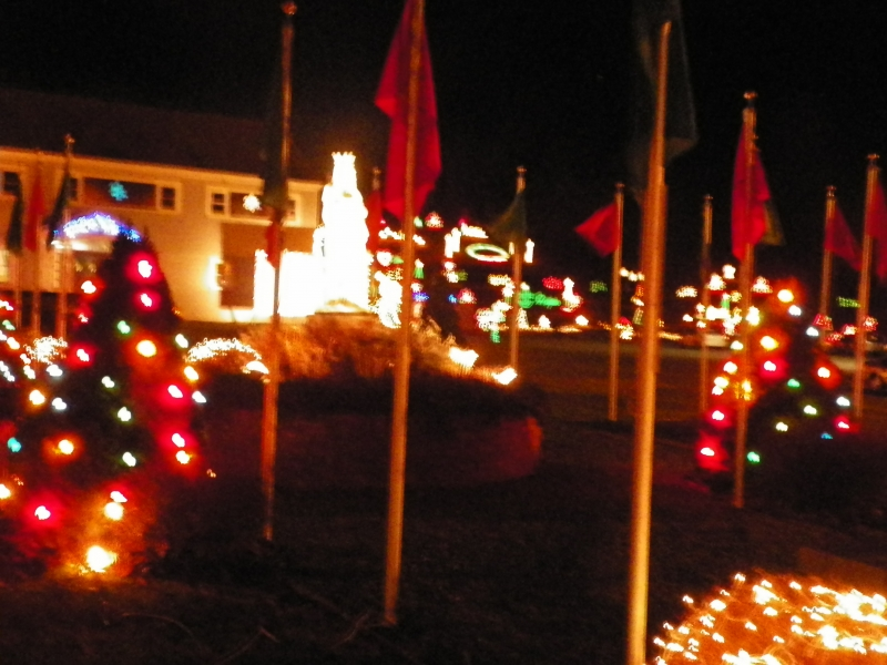 Xmas Lights At Lasallete