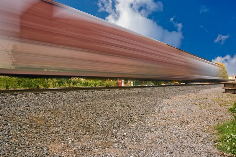 Trains In Motion 4696