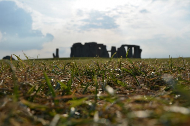 Stonehenge On The Ground: Worms Eye View