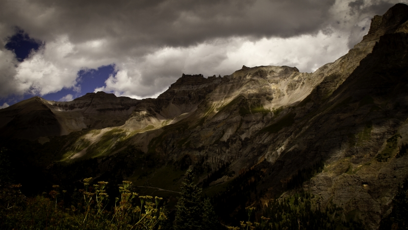 Clouds Over The San Juans