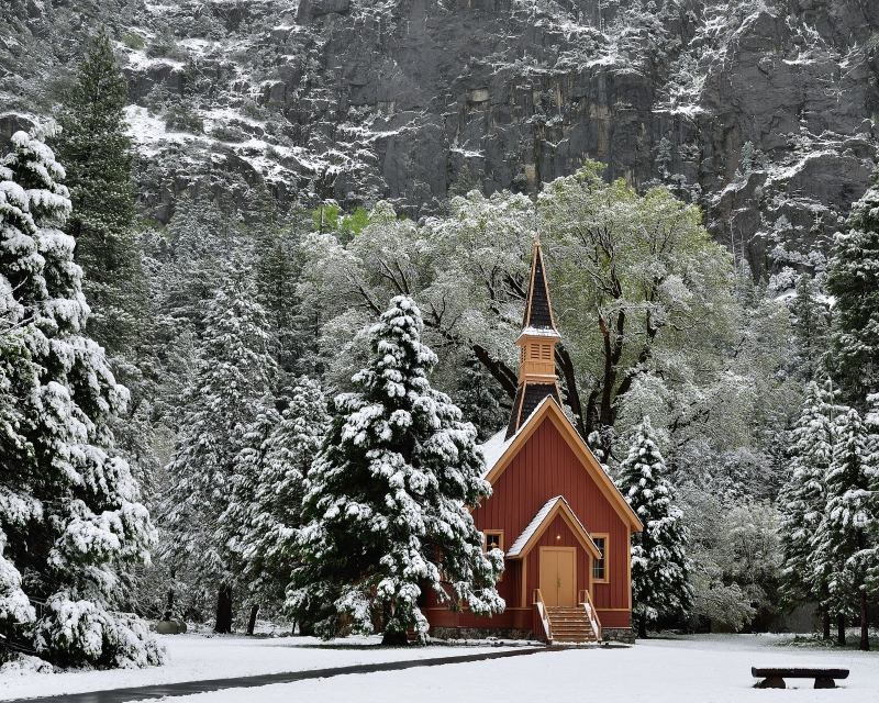 Snow And Chapel