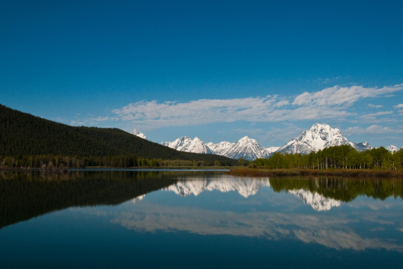 Grand Tetons From The Snake River