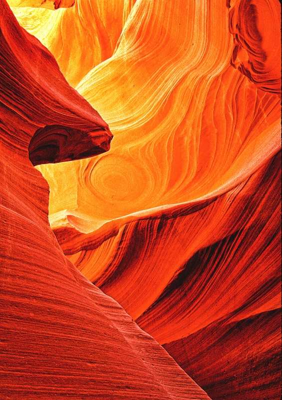 Slot Canyon Abstract