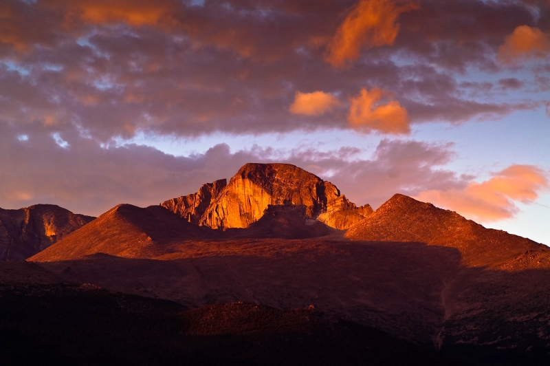 Pike's Peak Sunrise
