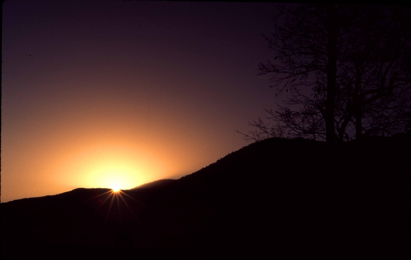 Sunrise Cades Cove Mtn
