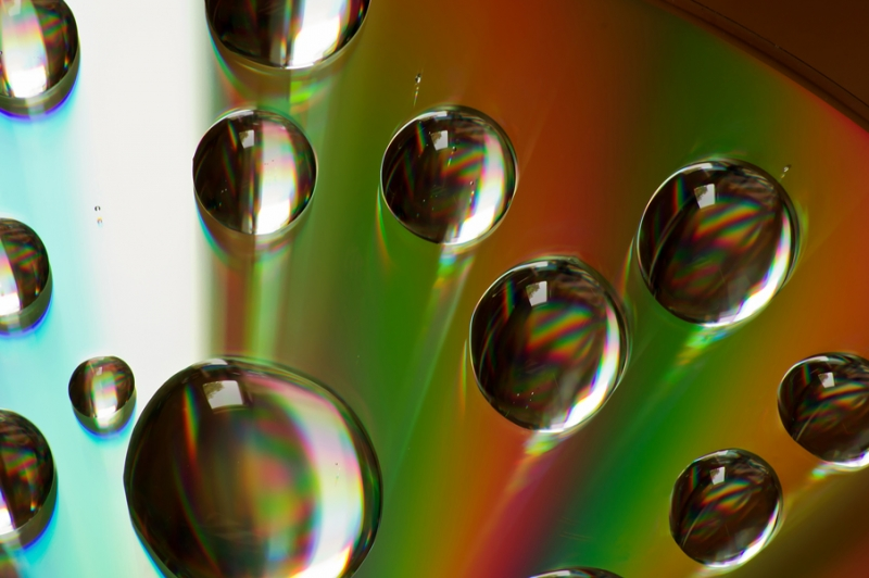 Bubbles On A Cd