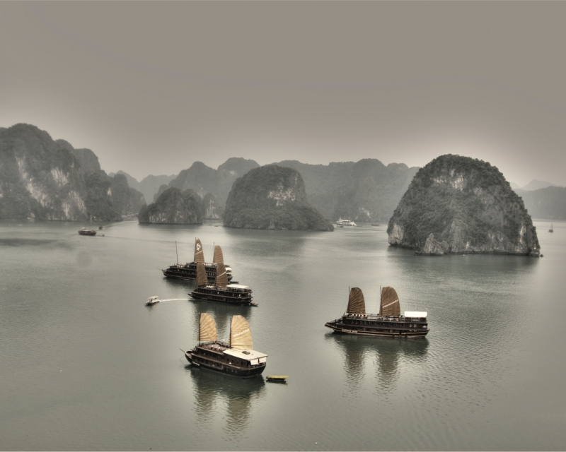 Ha Long Bay Junks