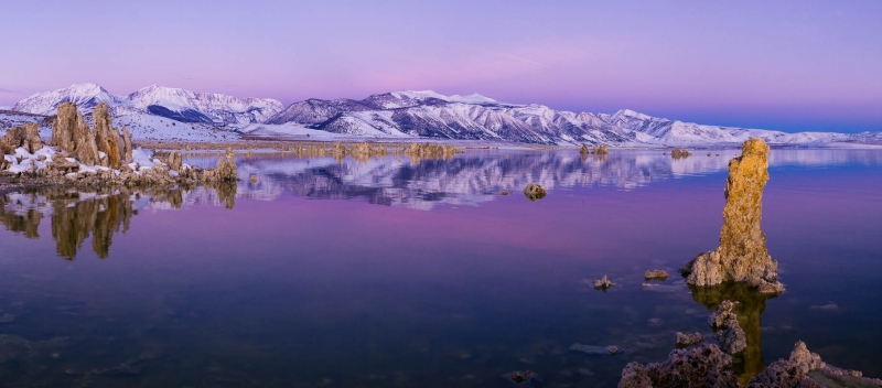 Winter Dawn, Mono Lake