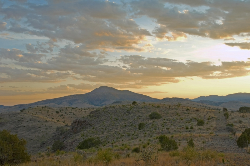 Sunset In The Davis Mountains