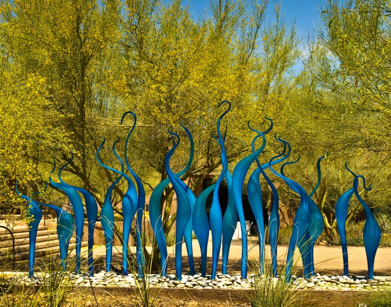 Chihuly In Blue