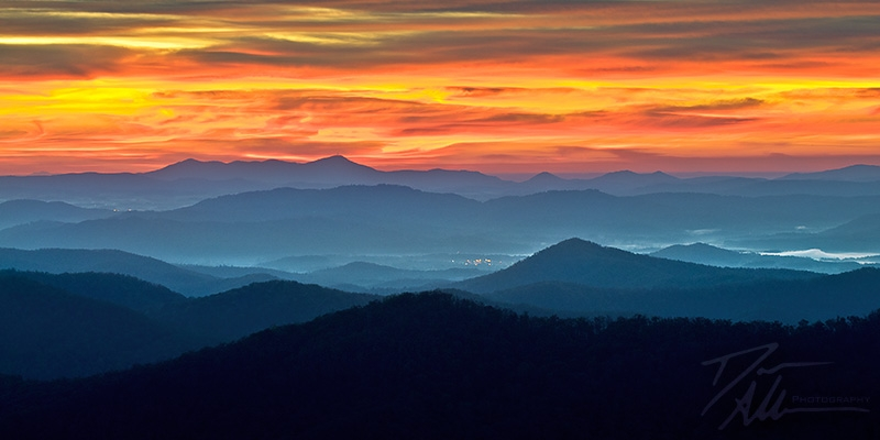 Ablaze – Blue Ridge Parkway Sunrise