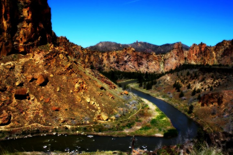 Smith Rock Viewpoint