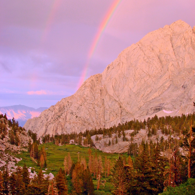 John Muir Wilderness Rainbow