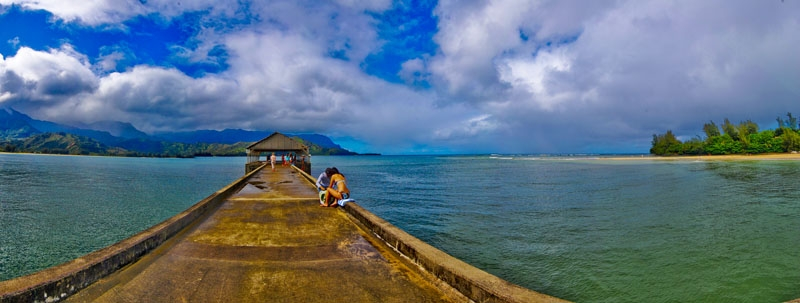 Hanalei Clearing Storm