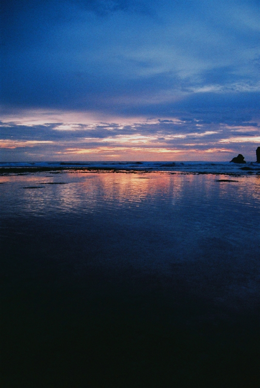 Krakal Beach At Sunset