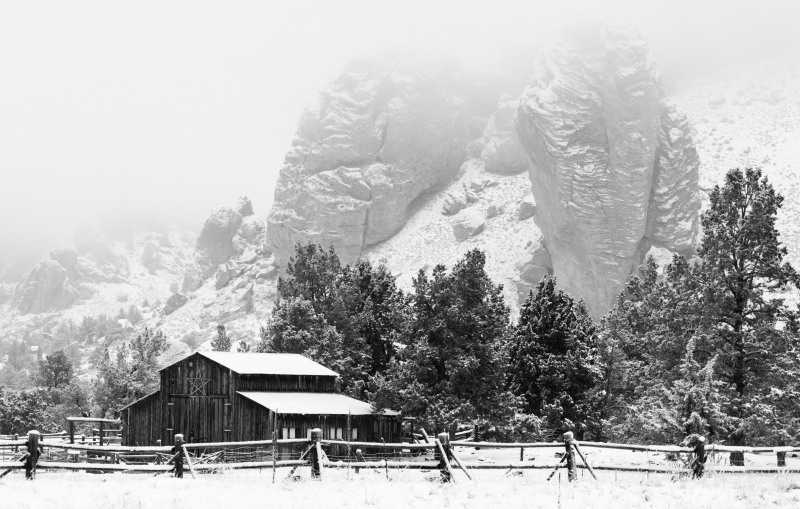 Barn At Smith Rock