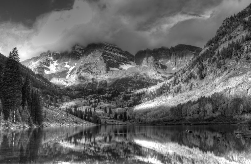 Autumn Storm Maroon Bells