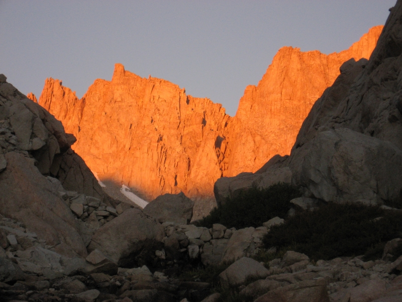 Sunrise At Mt Whitney