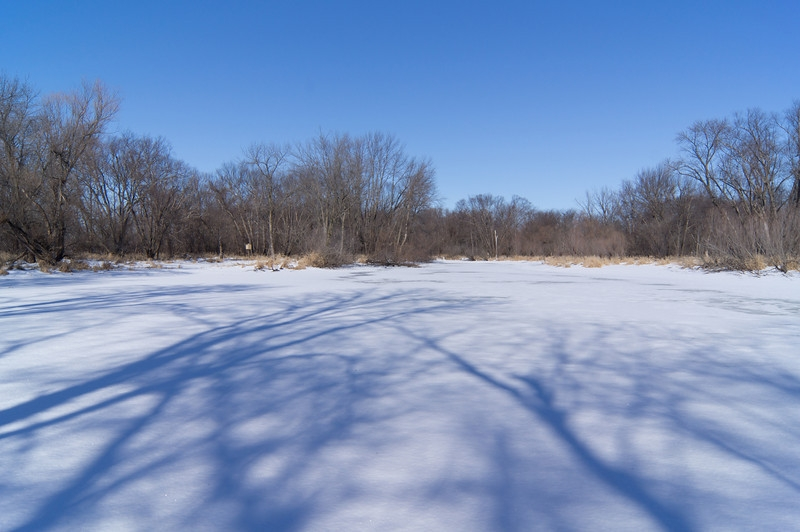 Shadows On The Frozen Lake
