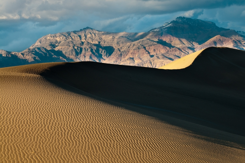 Death Valley Dunes; Death Valley National Park, California