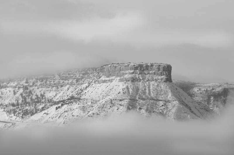 Mesa Verde, Winter Clearing Storm