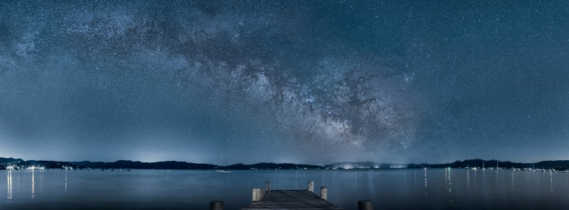 The Milky Way At Lake Tahoe