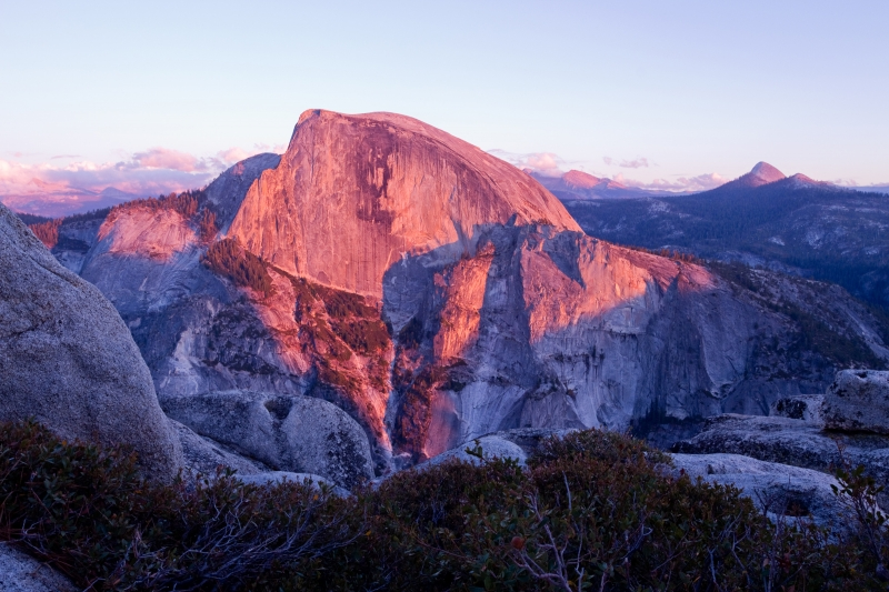 The Face Of Half Dome