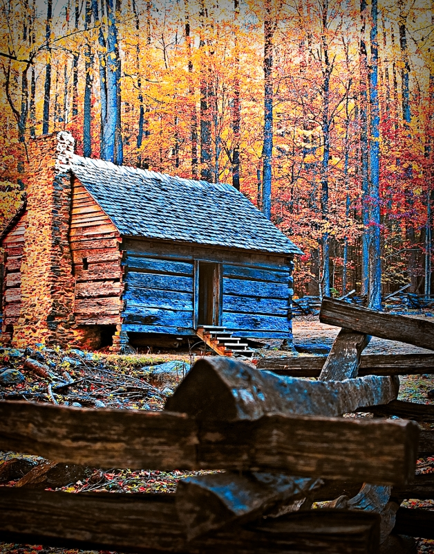 Cabin On The Roaring Fork Motor Nature Trail