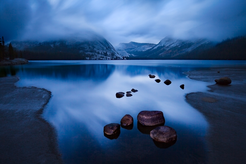 Tenaya Lake Evening – Yosemite