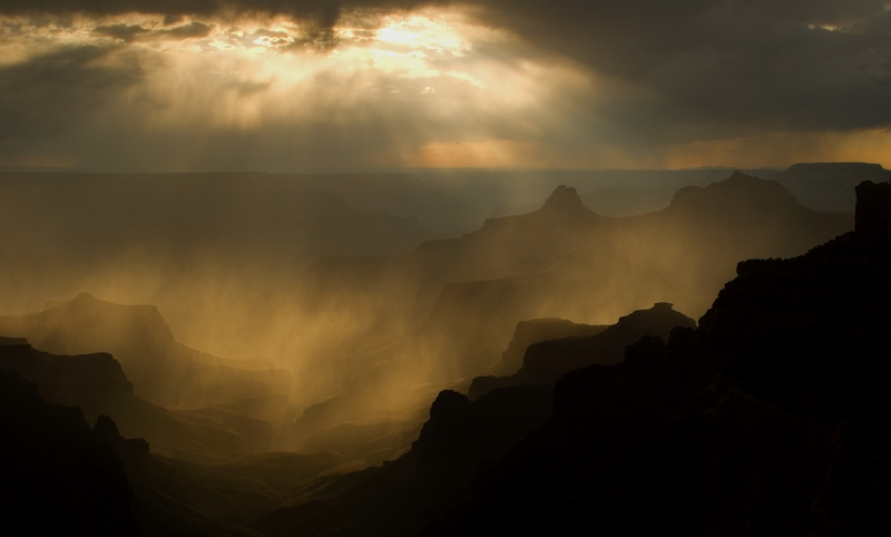 Canyon Silhouettes