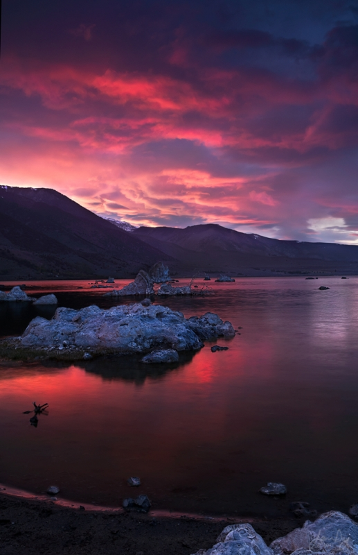Fire Of Mono Lake