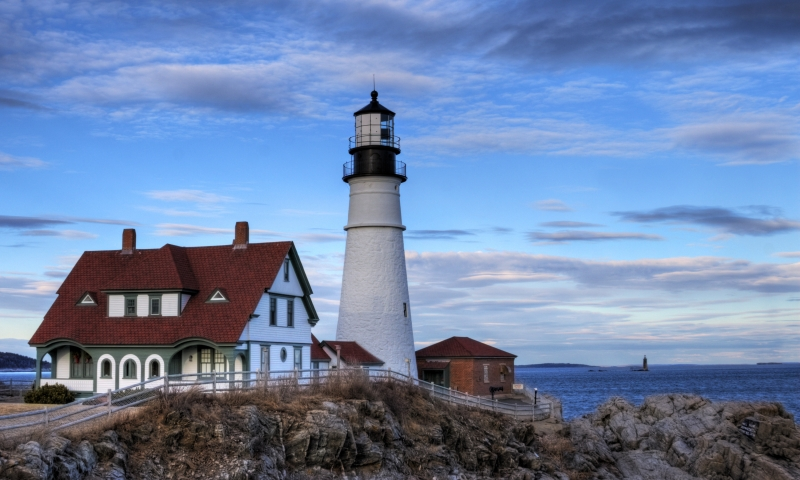 Portland Head Lighthouse Hdr