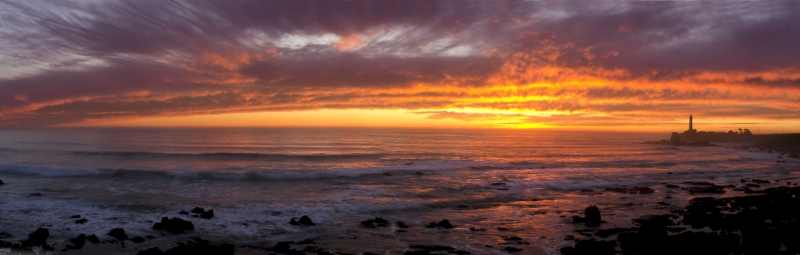 Pigeon Point Winter Sunset