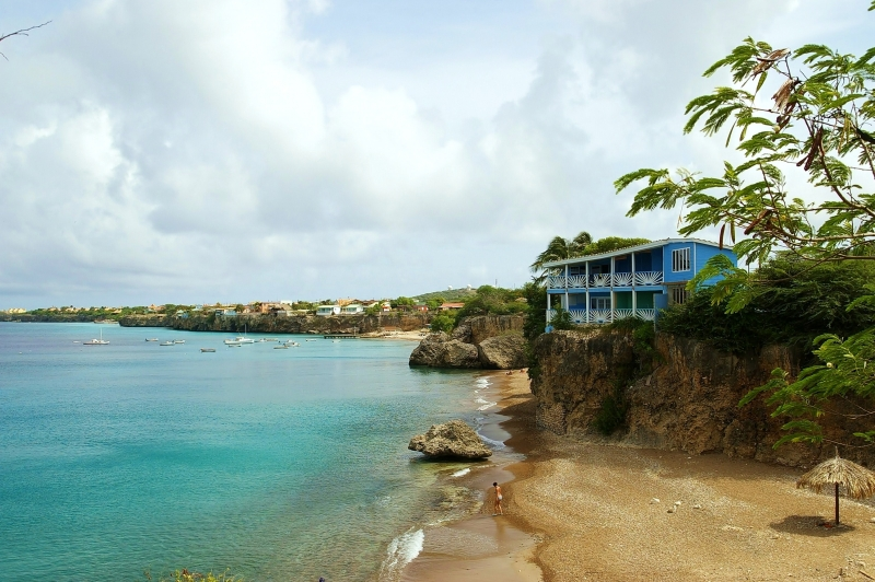 Curacao, Coastline Photo
