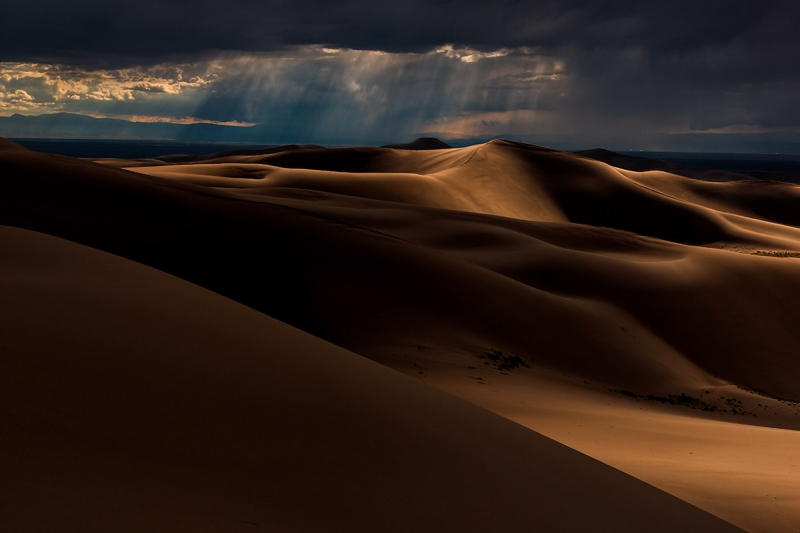 Rainstorm, Great Sand Dunes National Park, Colorado